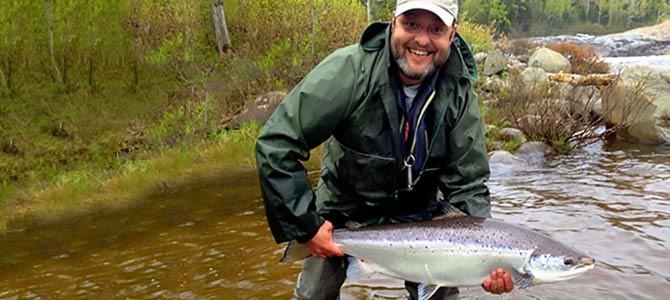 Le premier saumon 2014