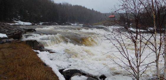 La rivière se lave!!