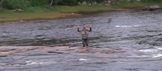 La pêche semble bien commencé